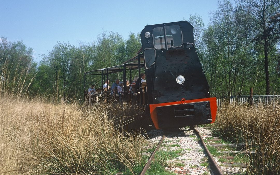 Feldbahnfahrt