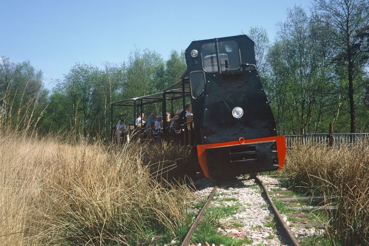 Mit der Schmalspurbahn das Museum erkunden